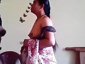 Unsatisfied Aunty Ji Fuck With GF's lad