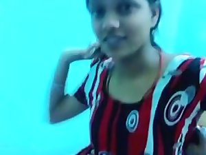 Sneha Punjabi College Cutie Exposing herself