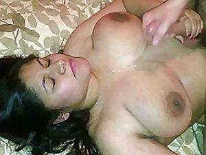 White Man Destryoing Indian Girl Tight Pussy And Feeding Her Cum