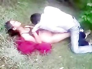 Indian Village Couple